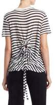 Alexander Wang Striped Slub Tee