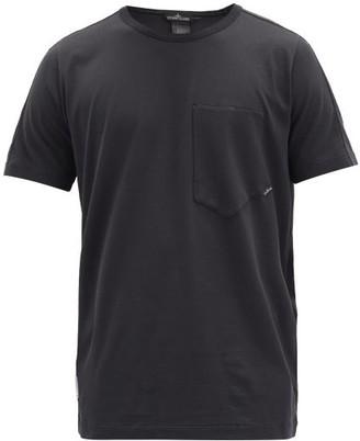 Stone Island Shadow Project Logo-print Cotton-jersey T-shirt - Black