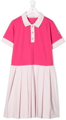 Moncler Enfant TEEN polo dress