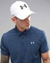 Under Armour Golf Cap In White 1273279-100