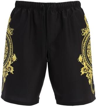 Versace Underwear Nylon Swim Shorts