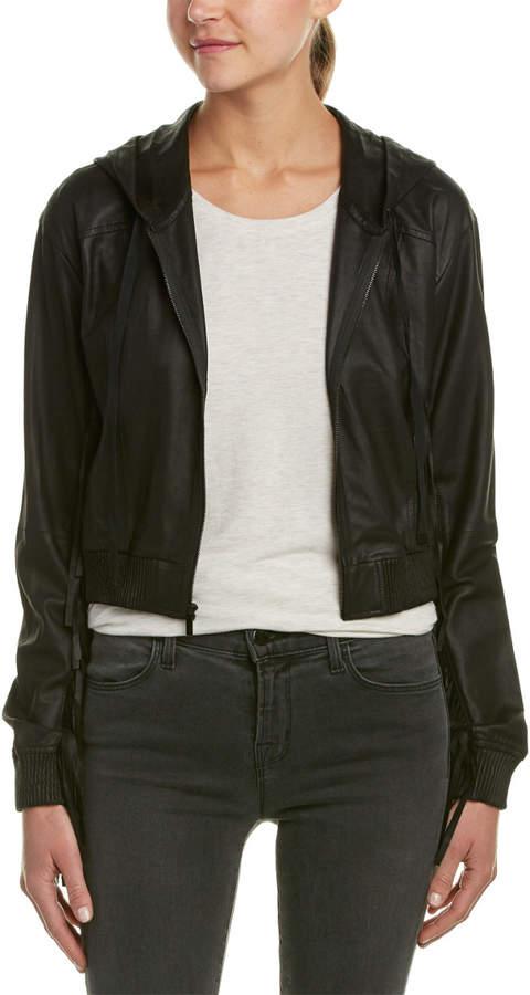 Elizabeth and James Fringe Tatum Leather Jacket