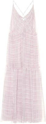 Jacquemus La Robe Mistral mousseline dress