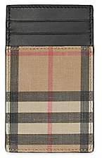 Burberry Men's Elmer Vintage Check Card Case
