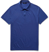 Loro Piana - Slim-fit Virgin Wool-piqué Polo Shirt