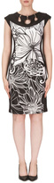 Joseph Ribkoff Keyhole Neckline Dress