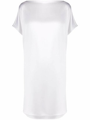 Gianluca Capannolo Short Sleeve Shift Dress