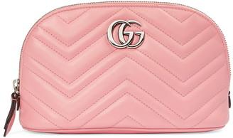 Gucci Large GG 2.0 Matelasse Leather Cosmetics Case