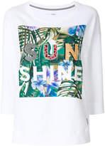 Marc Cain leaf print T-shirt