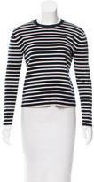 TOMORROWLAND Striped Wool Top