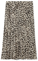 Vince Camuto Leopard-print Skirt