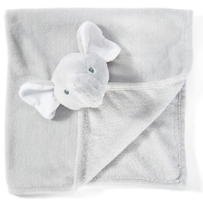 3 Stories Trading Amor Bebe Infant Jumbo Elephant Security Blanket