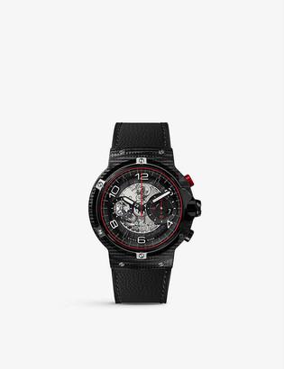 Hublot 526.QB.0124.VR Classic Fusion Ferrari GT 3D carbon and rubber strap watch