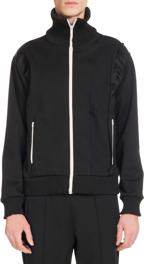 Maison Margiela Men's Zip-Front Sweat Jacket