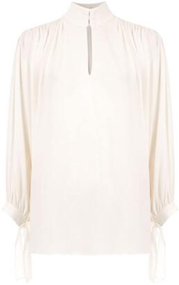Egrey Silk Shirt