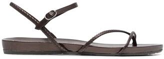 Pedro Garcia Braided Strap Sandals