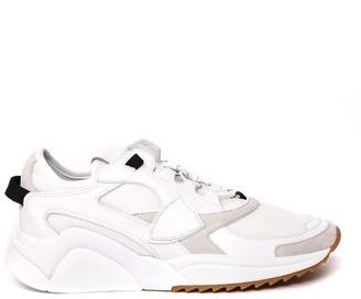 Philippe Model Ezel White Leather & Nylon Sneakers
