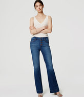 LOFT Wide Leg Trouser Jeans in Classic Dark Indigo
