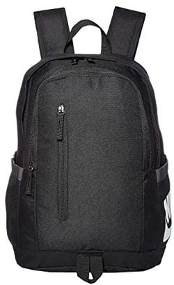 Nike All Access Soleday Backpack - 2 (Black/Black/White) Backpack Bags