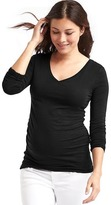 Gap Pure Body solid V-neck tee