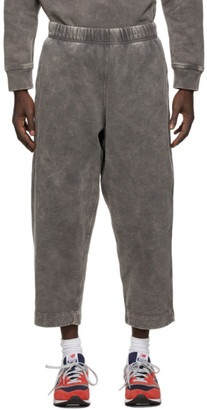 N.Hoolywood Grey Faded Wide-Lounge Pants