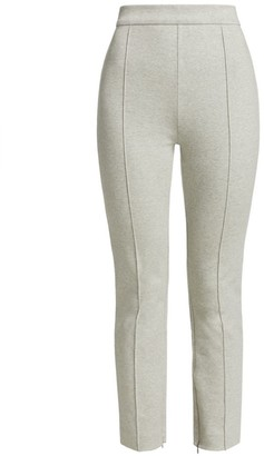 Joan Vass Front Seam Cropped Pants