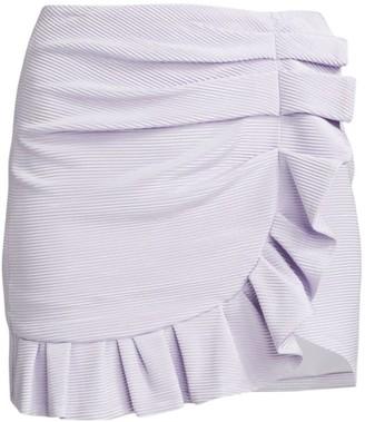 Jonathan Simkhai Azalea Ruffle Mini Skirt