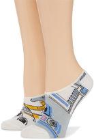 Asstd National Brand 2 Pair Liner Socks - Star Wars Multi