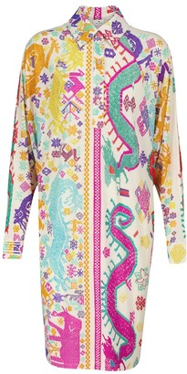 Etro Printed shirt dress