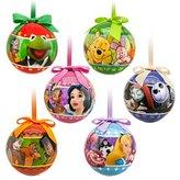 Disney 2013 World of Christmas Ball Ornament Set
