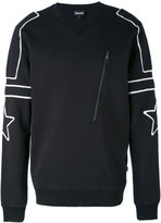 Just Cavalli contrast sweatshirt
