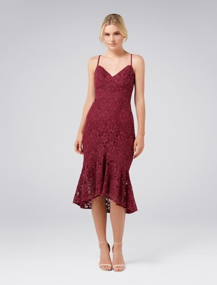 Ever New Petal Lace Midi Dress