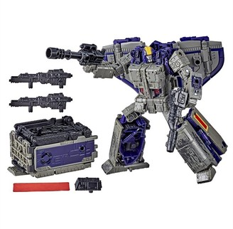 Transformers Toys Generations War for Cybertron: Earthrise Leader WFC-E12 Astrotrain Triple Changer 7-inch