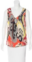 Altuzarra Silk Embellished Top