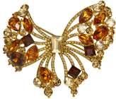 Krustallos Swarovski Crystal Brooch Bow Design