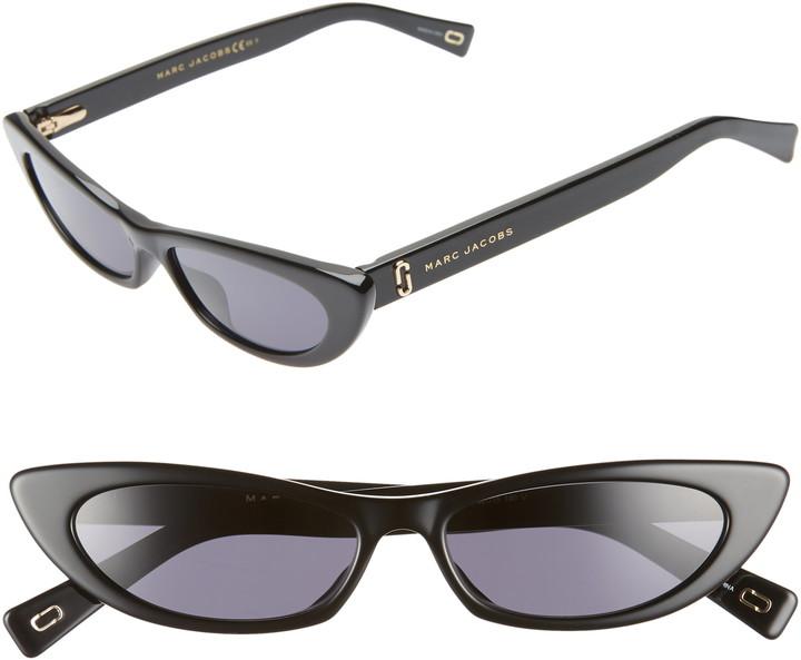 Marc Jacobs 52mm Cat Eye Sunglasses