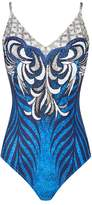 Gottex Geometric Print Swimsuit