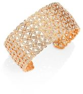 Adriana Orsini Anise Rose Gold-Plated Wide Cuff Bracelet