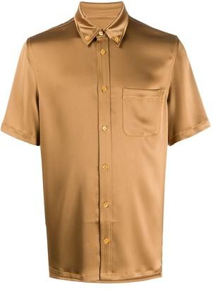 Sies Marjan Short Sleeve Tonal Shirt