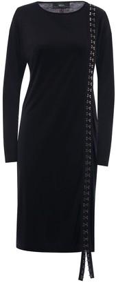 Nissa Lateral Detail Asymmetrical Dress
