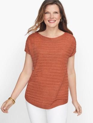 Talbots Chunky Knit Linen Sweater