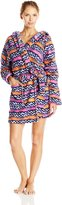 Bottoms Out Women's Printed Plush Robe