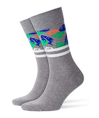 Burlington Men's Tropical Skate Cotton Socks,7/11