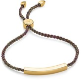Monica Vinader 18K Yellow Goldplated Linear Friendship Bracelet