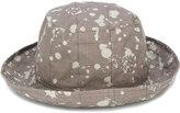 Kijima Takayuki - splattered hat - unisex - Cotton - 57