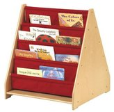 Guidecraft 2 Sided Canvas Book Display
