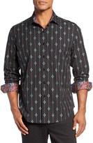 Robert Graham Men's Jace Classic Fit Diamond Sport Shirt