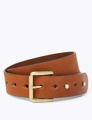 Marks and Spencer Leather Wide Waist Belt