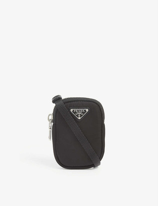 Prada Trick nylon cross-body pouch