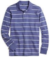 Brooks Brothers Boys' Narrow Stripe Piqué Polo Shirt - Sizes XS-XL